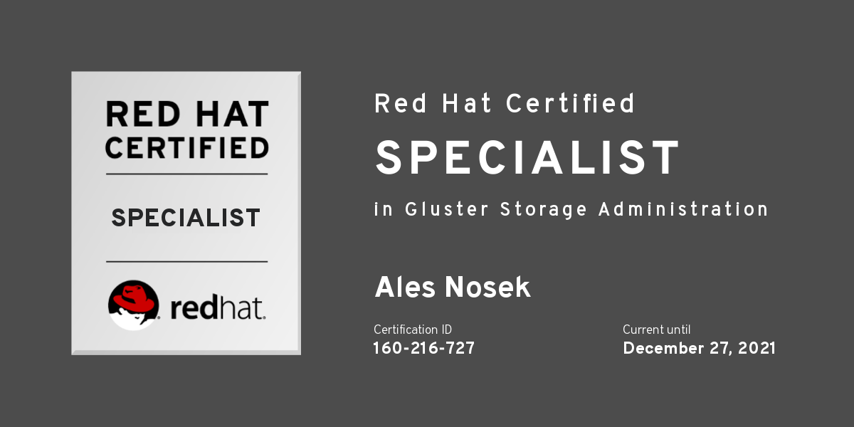 Tips for Passing the Red Hat Certified Specialist in Gluster Storage